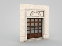 3d model of architectural element 2