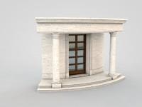 3d c4d architectural element 93