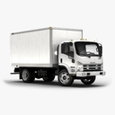 transporter truck 3D models