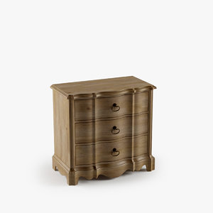 corsica drawer nightstand max
