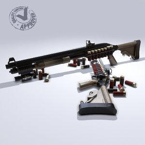 3d mossberg 500 tactical model