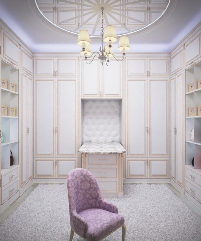 3d model bedroom dressing