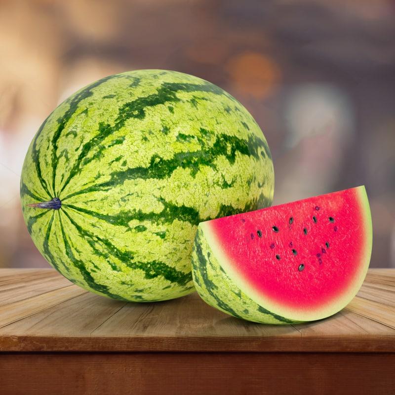 watermelon fruit 3d max