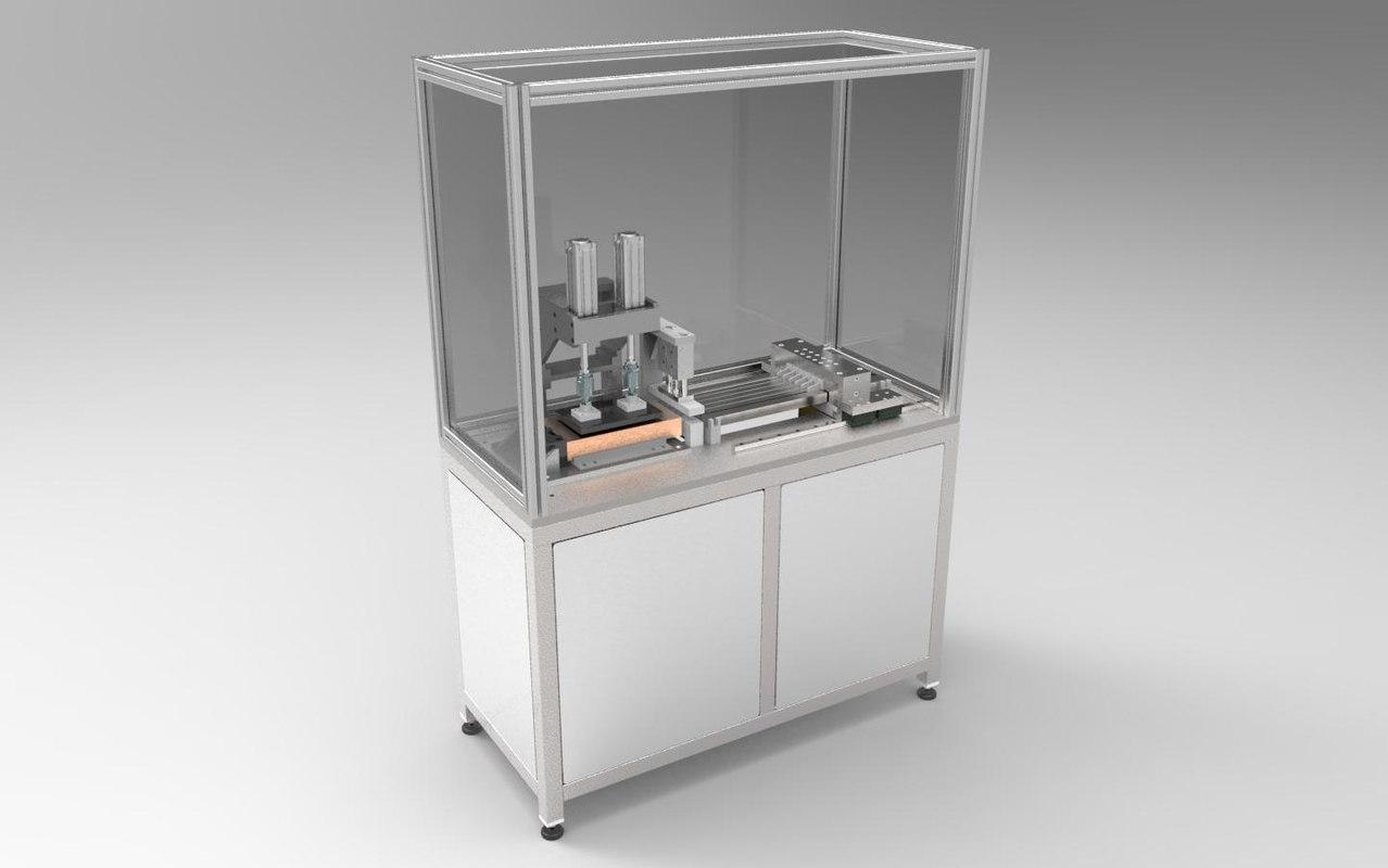 3d heat exchanger skewer driving model