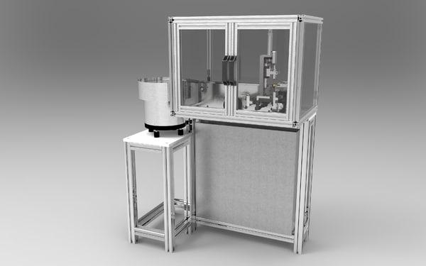 3d injector nozzles measuring machine model