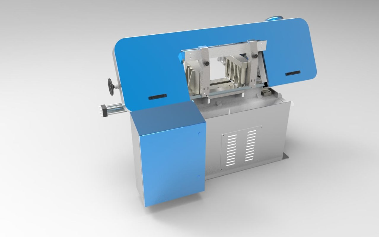 automatic band saws 3d model
