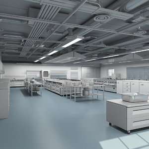 commercial kitchen 3d max