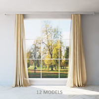Curtains set of 12 models