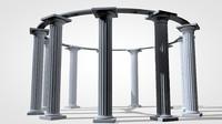 columns temple c4d