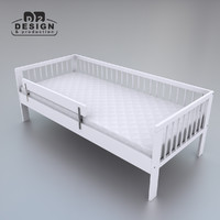 3d ikea gulliver bed model