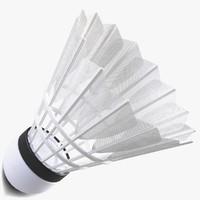 3d shuttlecock