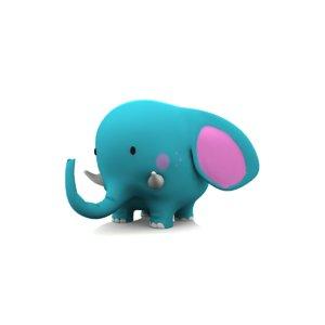 toon elephant obj
