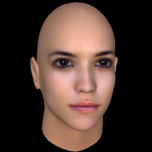 obj woman head