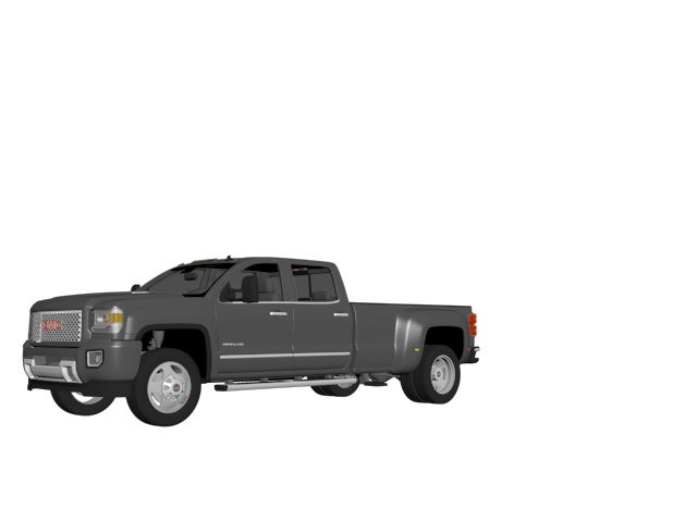 3d gmc 3500