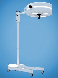 surgery lamp 3d model