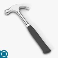 obj steel claw hammer