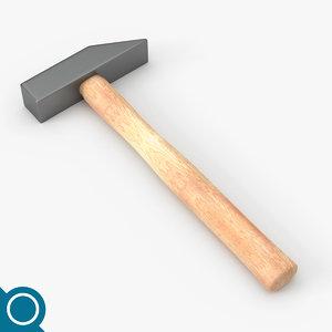 3d obj tinner hammer