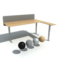 max kinnarp office desk oberon