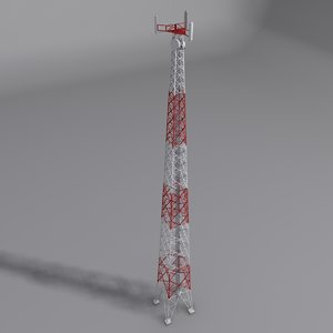 3d model mobile tower