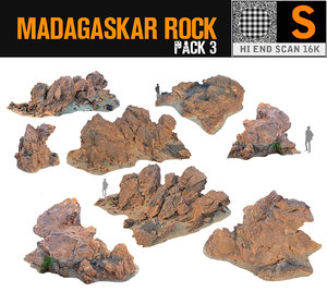 3d madagascar red rock pack 3