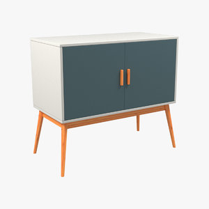 3d sideboard storage model