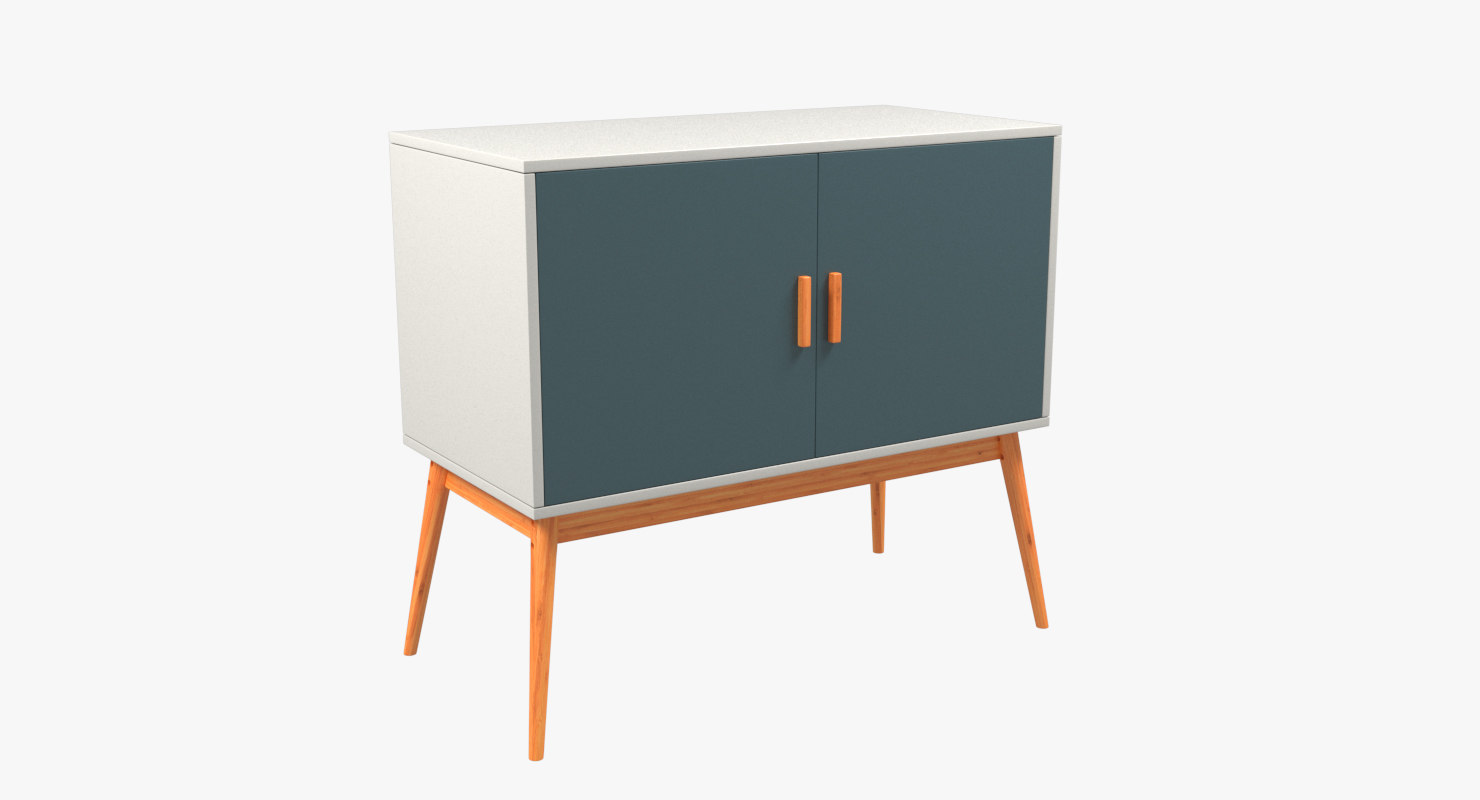 3d sideboard storage model