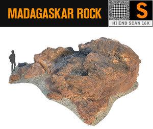 madagascar red rock 16k 3d max