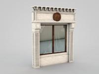 3d model architectural element 37
