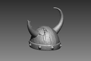helmet zbrush 3d obj