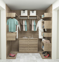 3d model of wardrobe room