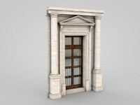architectural element 50 3d model