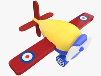 toy airplane 3ds