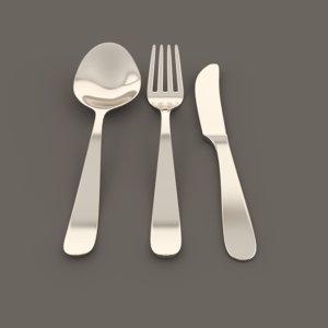 obj cutlery