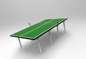 ping-pong table obj