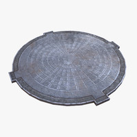 3d model of ready manhole