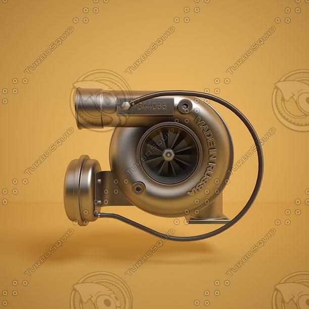 3d model turbo