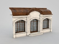 3d model of architectural element 51