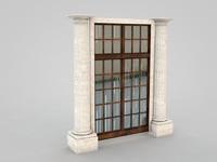 3d architectural element 59 model