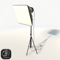 3d 3ds photo studio soft light lamp