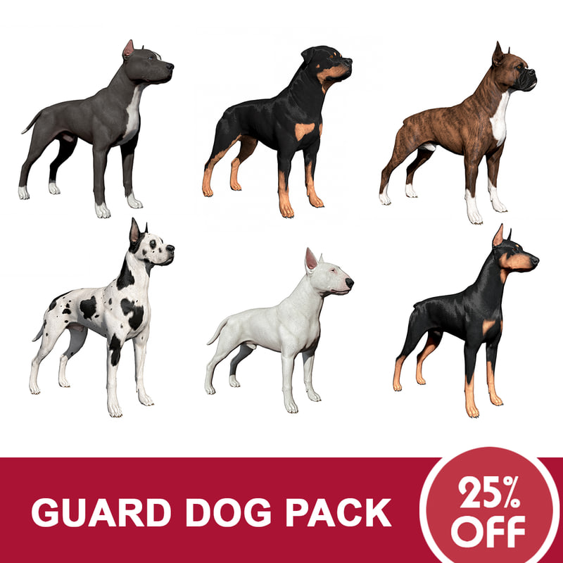 3ds guard dog pack
