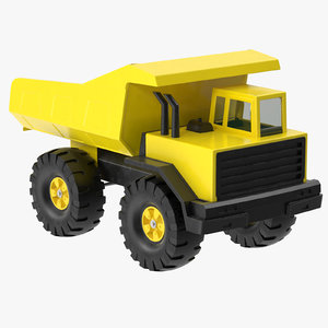 toy truck 01 3d max