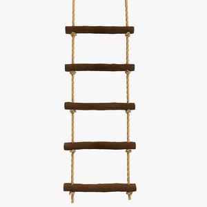 3d ladder 5 step model