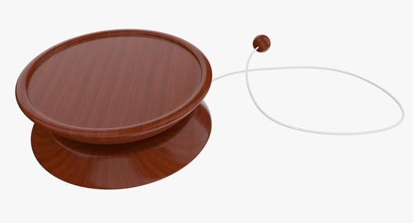 3d model yo-yo toy