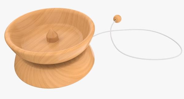 yo-yo toy 3d obj