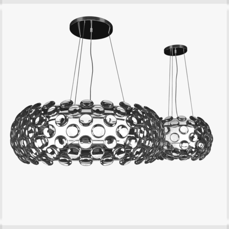 3d crystal ball chandeliers maishang