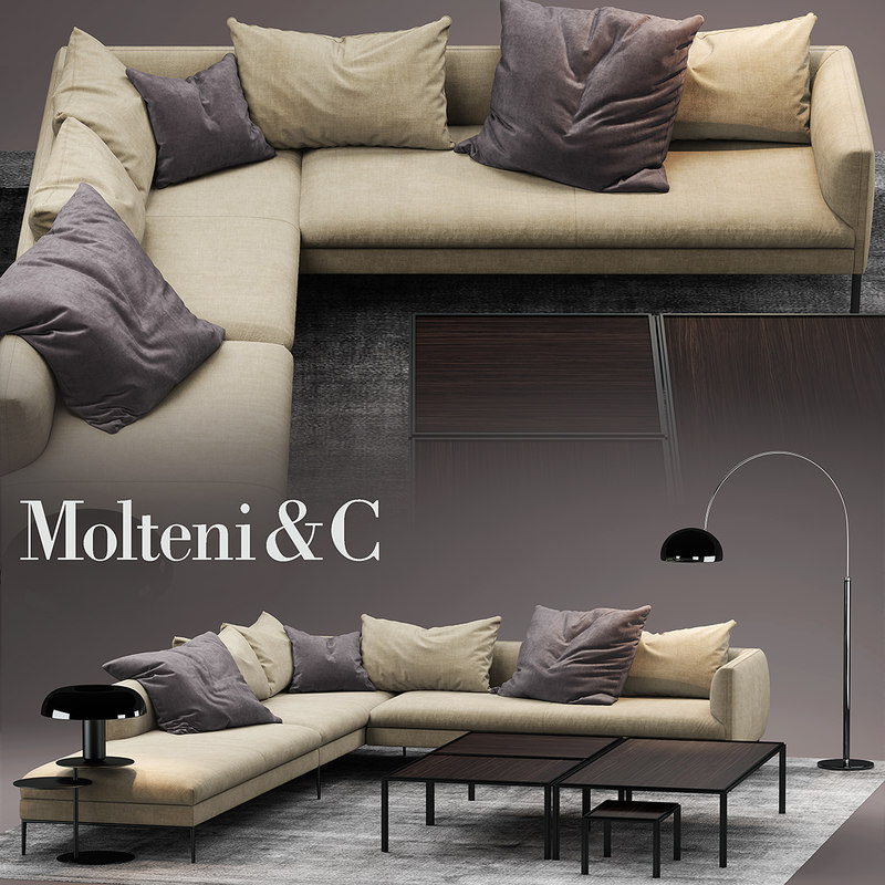 molteni sofa paul max