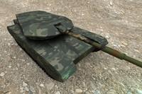 simple tank 3d model