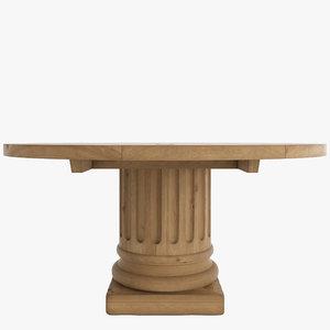3d columns tables salvaged