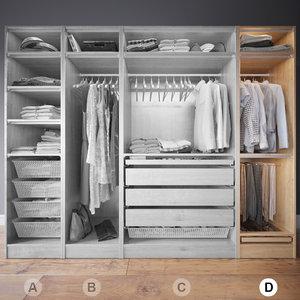 wardrobe clothes d max