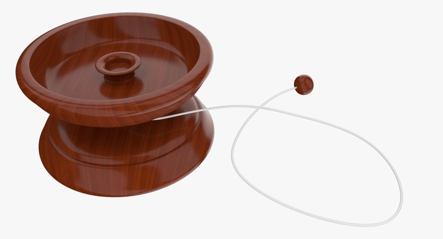 yo-yo toy 3d model